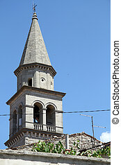 Tower of church