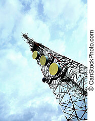 Tower of communications