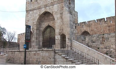 Tower of David in Jerusalem b