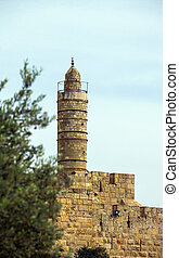 Tower of David in Jerusalem, Old city, Israel