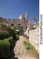 Tower Of David, in Jerusalem old city