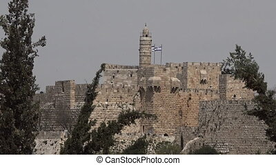 Tower of David Jerusalem Israel - Tower of David and...