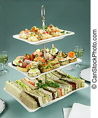 Tower Of Finger Food - Delicious assorted finger food and ...