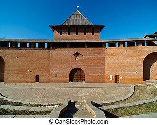 Tower of Kremlin in Nizhny Novgorod
