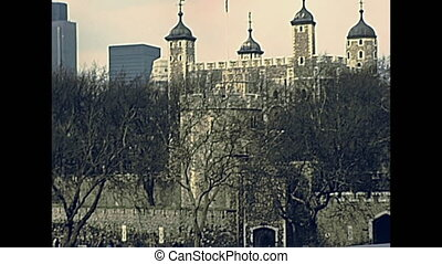 Tower of London castle, Her Majesty's Royal Palace and...