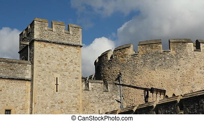 Tower of London. Detail. Real time. - Tower of London....