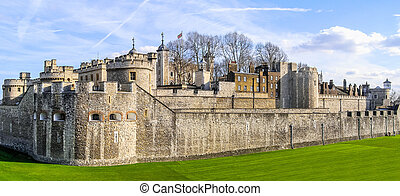 Tower of London HDR - High dynamic range HDR Tower of London...