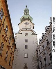 Tower of Michael's Gate, Bratislava, Slovakia