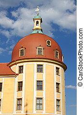 Tower of Moritzburg Castle