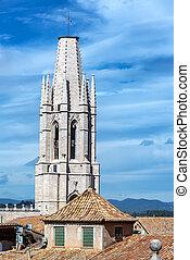Tower of Saint Felix Church - Tower of Saint Felix church in...