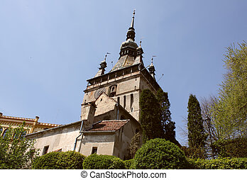 Tower Of Sighisoara castle