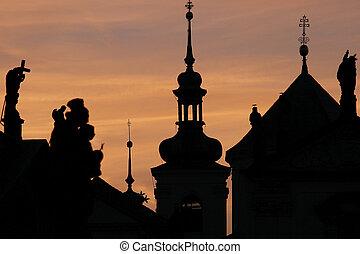 Tower of St. Nicholas Church, Prague