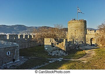 Byzantine fortress in Kavala
