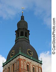 Tower of the Dome Cathedral - This picture shows tower of...