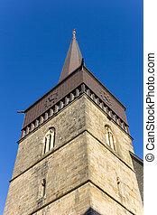 Tower of the St. Lamberti church of Hildesheim - Tower of ...