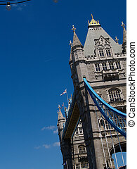 Tower of Twoer Bridge, left of frame.