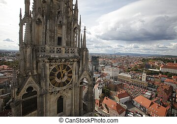 Tower of Zagreb Cathedral