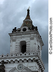 Tower on a Church in Quito