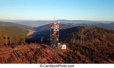 Tower on Ruprechticky spicak - Suche mountains, Poland
