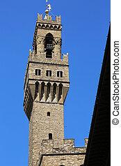Tower Palazzo Vecchio Florence