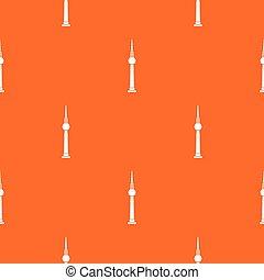 Tower pattern seamless