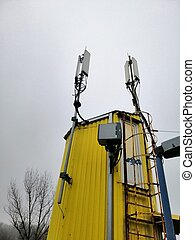 Tower, station, antenna, cell of a mobile operator