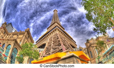 Tower - Beautiful High definition tone mapped time lapse of...