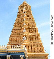towering gopuram india - gopuram