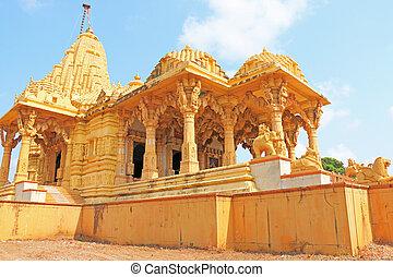 towering gopuram india - temple and shrine