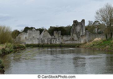 Towering Ruins of Desmond Castle in Ireland