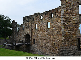 Towering Ruins of St Andrew's Castle