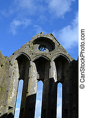 Towering Ruins of the Rock of Cashel