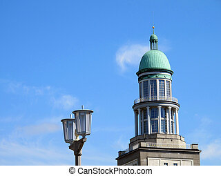 towers frankfurter allee - architectural details of the...