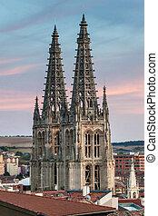 Towers of Cathedral of Santa Maria, Burgos