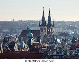Towers of Prague, Czech Republic