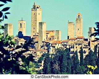 towers of San Gimignano