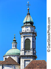Towers of the St. Ursus Cathedral