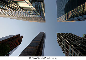 Office towers in down town