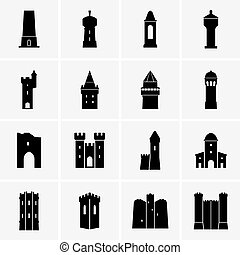 Set of towers