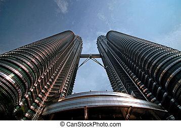 towers - The Patronus Towers, Kuala Lumpur.