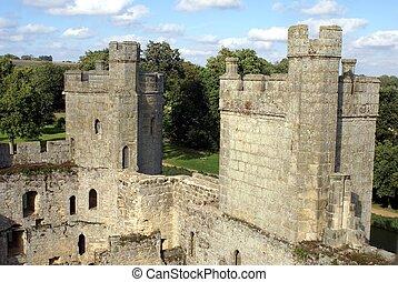 towers, Warwick Castle, England