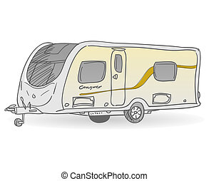 Towing Caravan - Vacation mobile trailer as accomodation for...