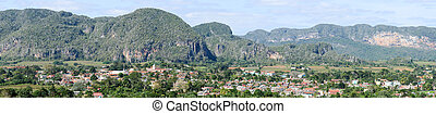Town and valley of Vinales, Cuba