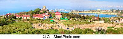 town), chersonesos, 春, (ancient