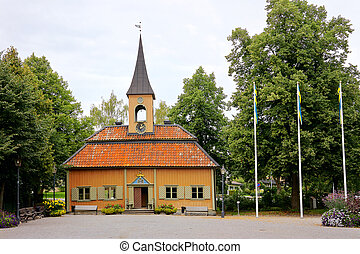 Town hall at Sigtuna, Sweden