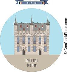 Town Hall, Brugge, Belgium