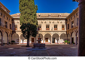 Town Hall in Antequera. Malaga province, Andalusia, Spain Western Europe