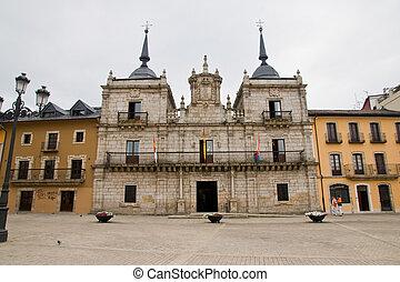 town hall in Ponferrada, Leon, Spain