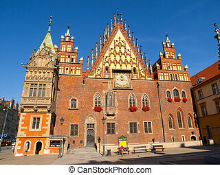 Town Hall in Wroclaw