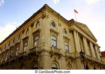 Town Hall, Lisbon, Portugal